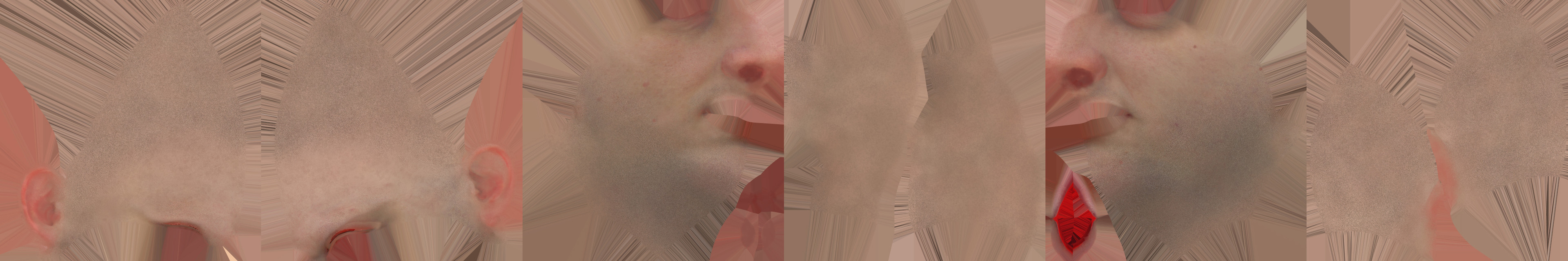 Reconstructed Scan Textures dilation w/ Paintovers