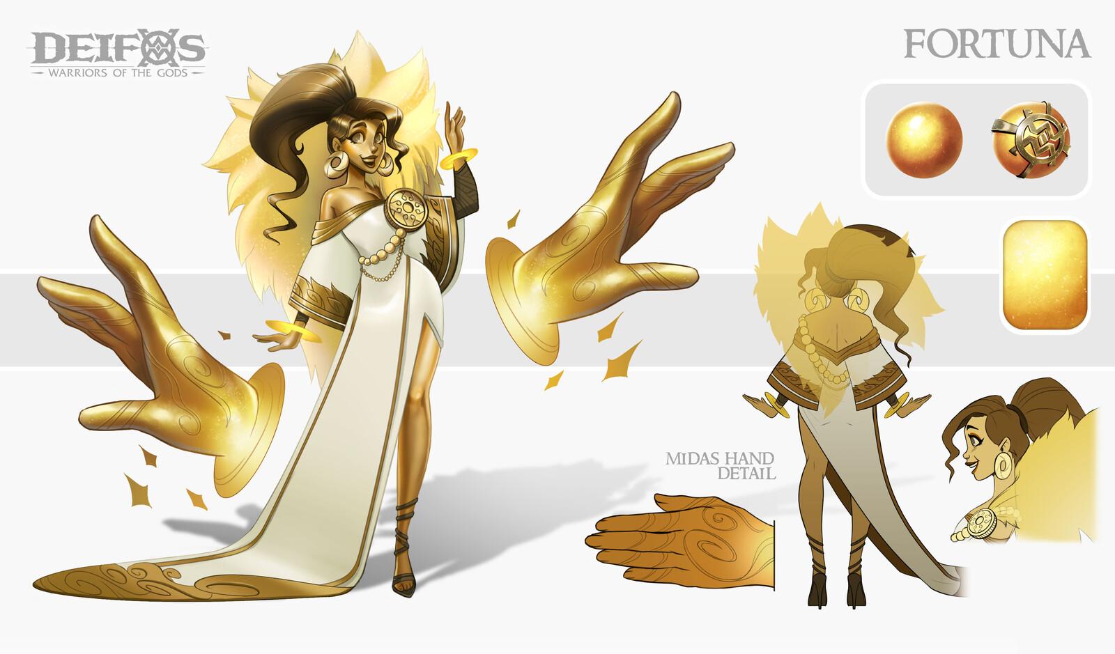 Fortuna, Goddess of Fortune