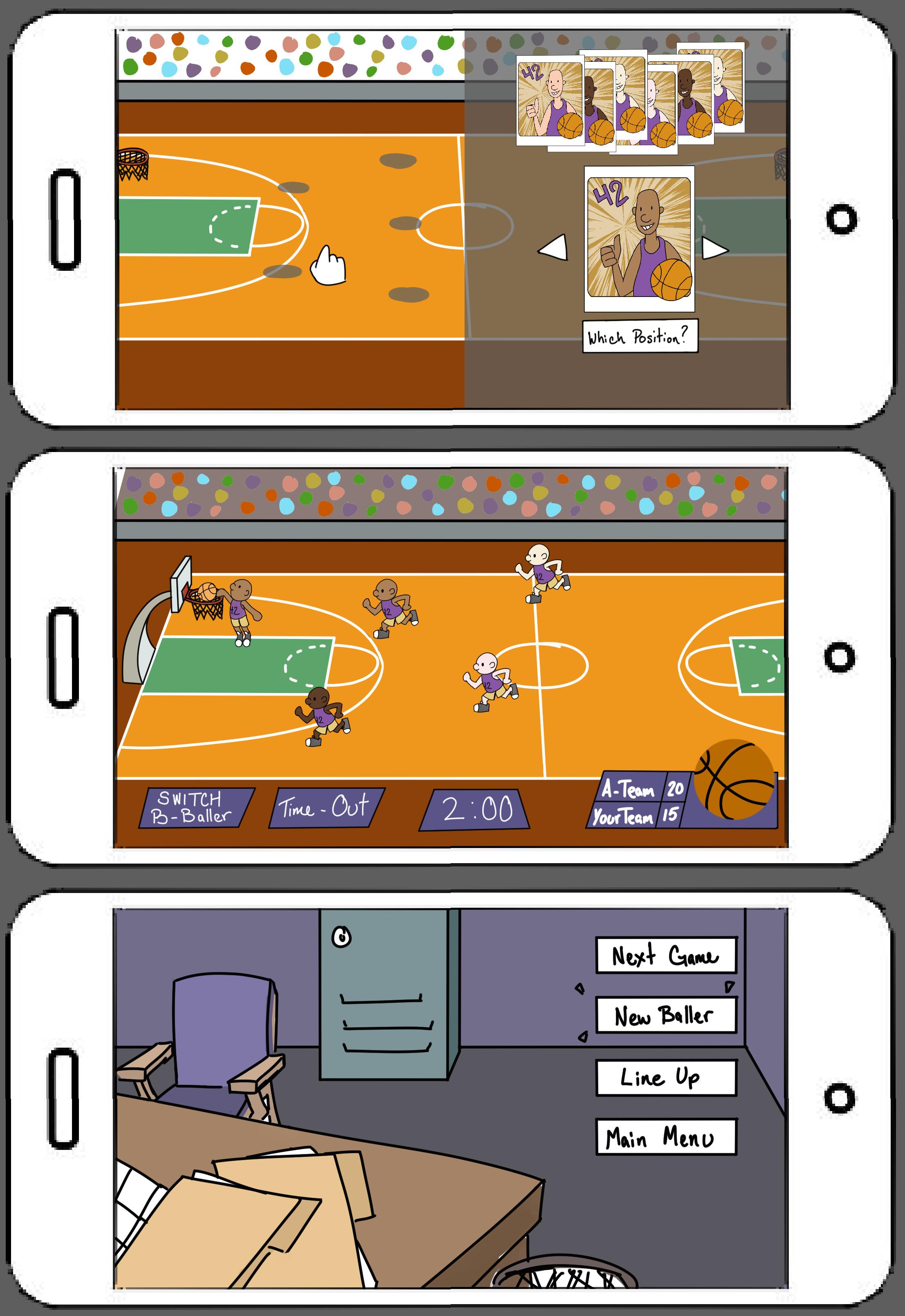Basketball RTS