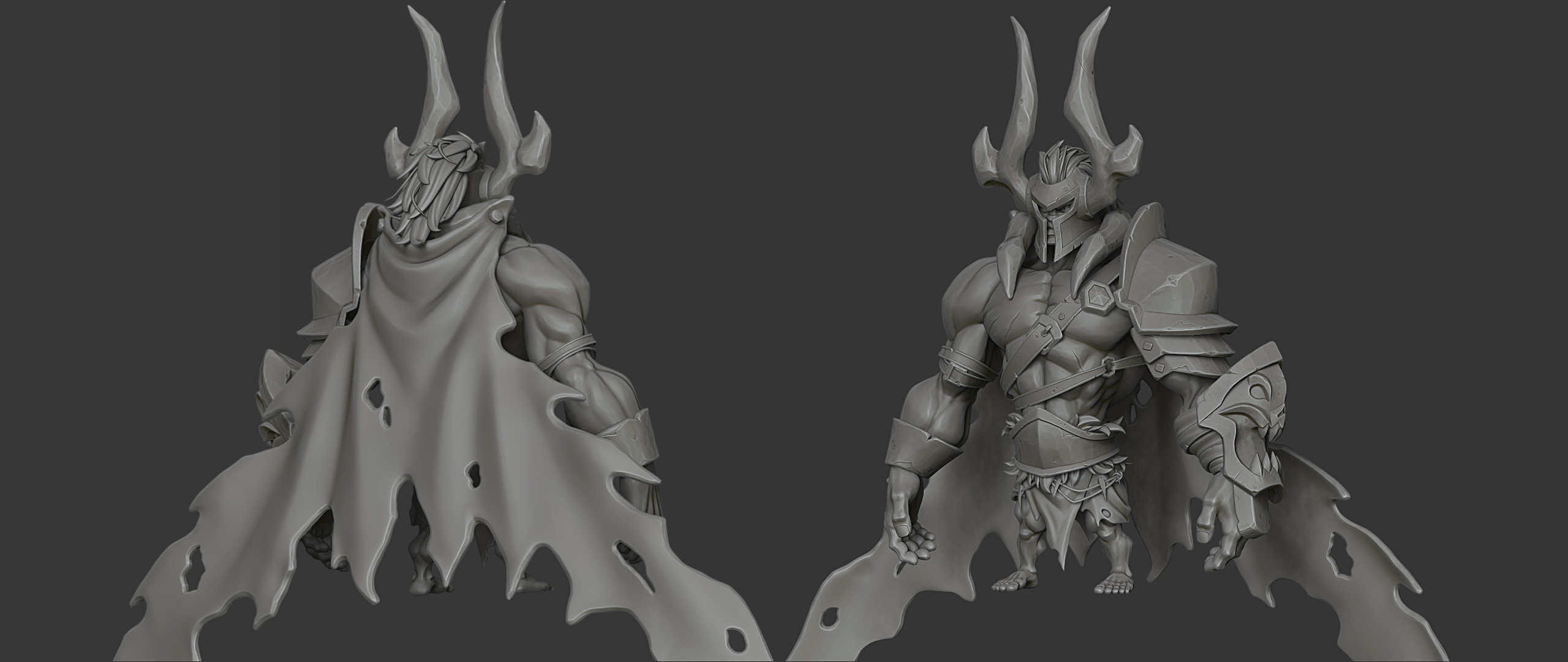 Character Highpoly (Zbrush Render)