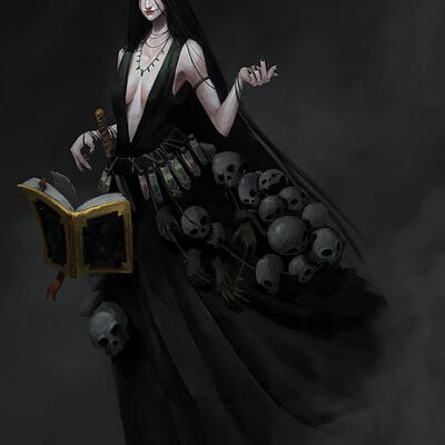 Thuan nguyen dark necromancer4