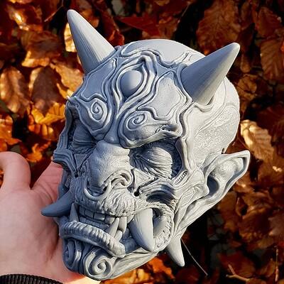 -DARK ONI- 3D print project