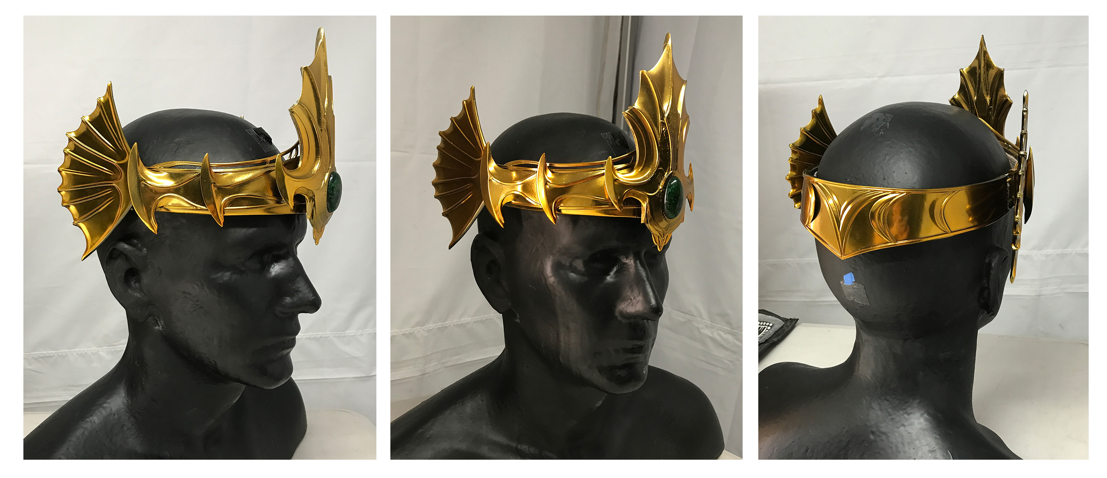 King Orm - crown 3d modelled and 3d printed