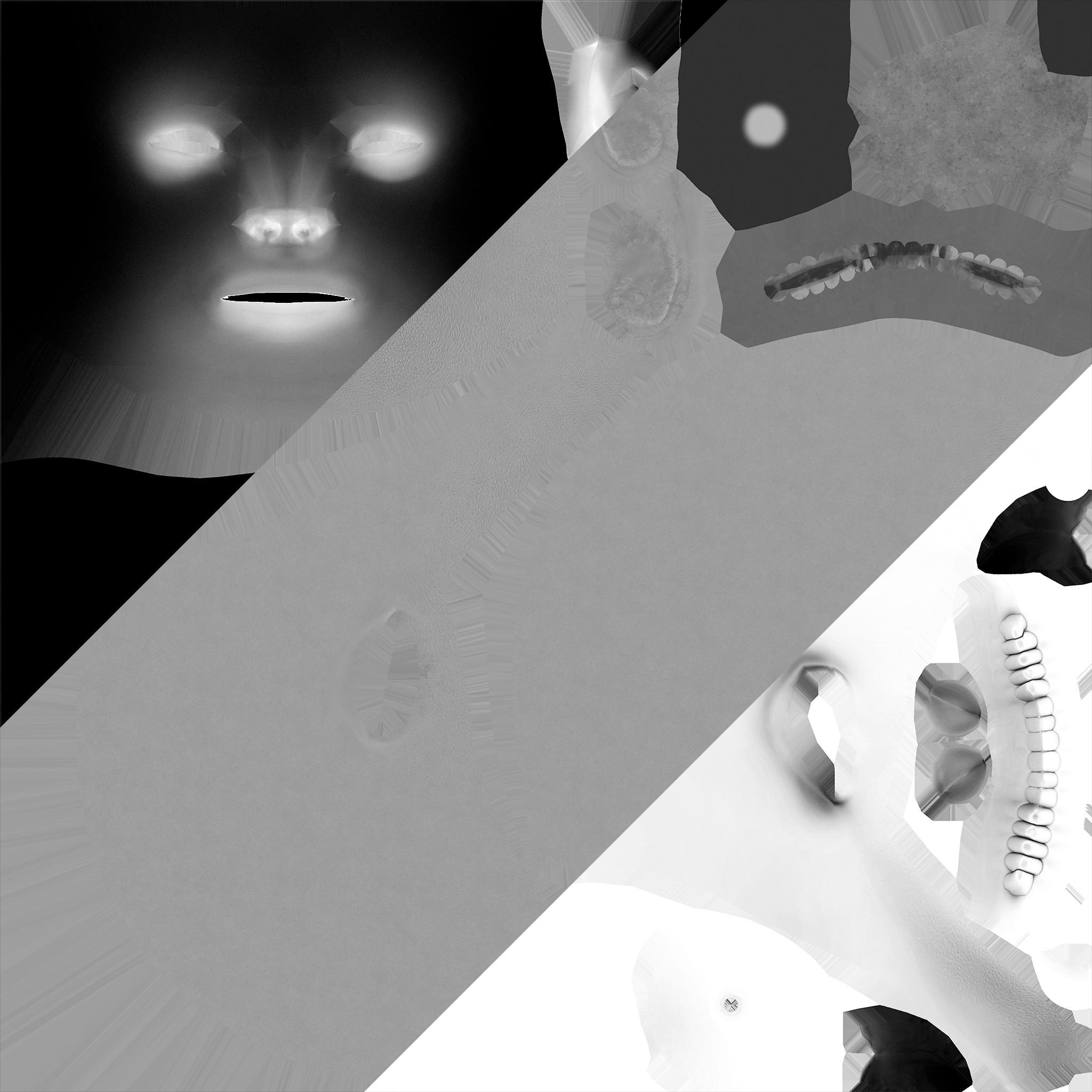 Face's SS/Roughness/AO maps