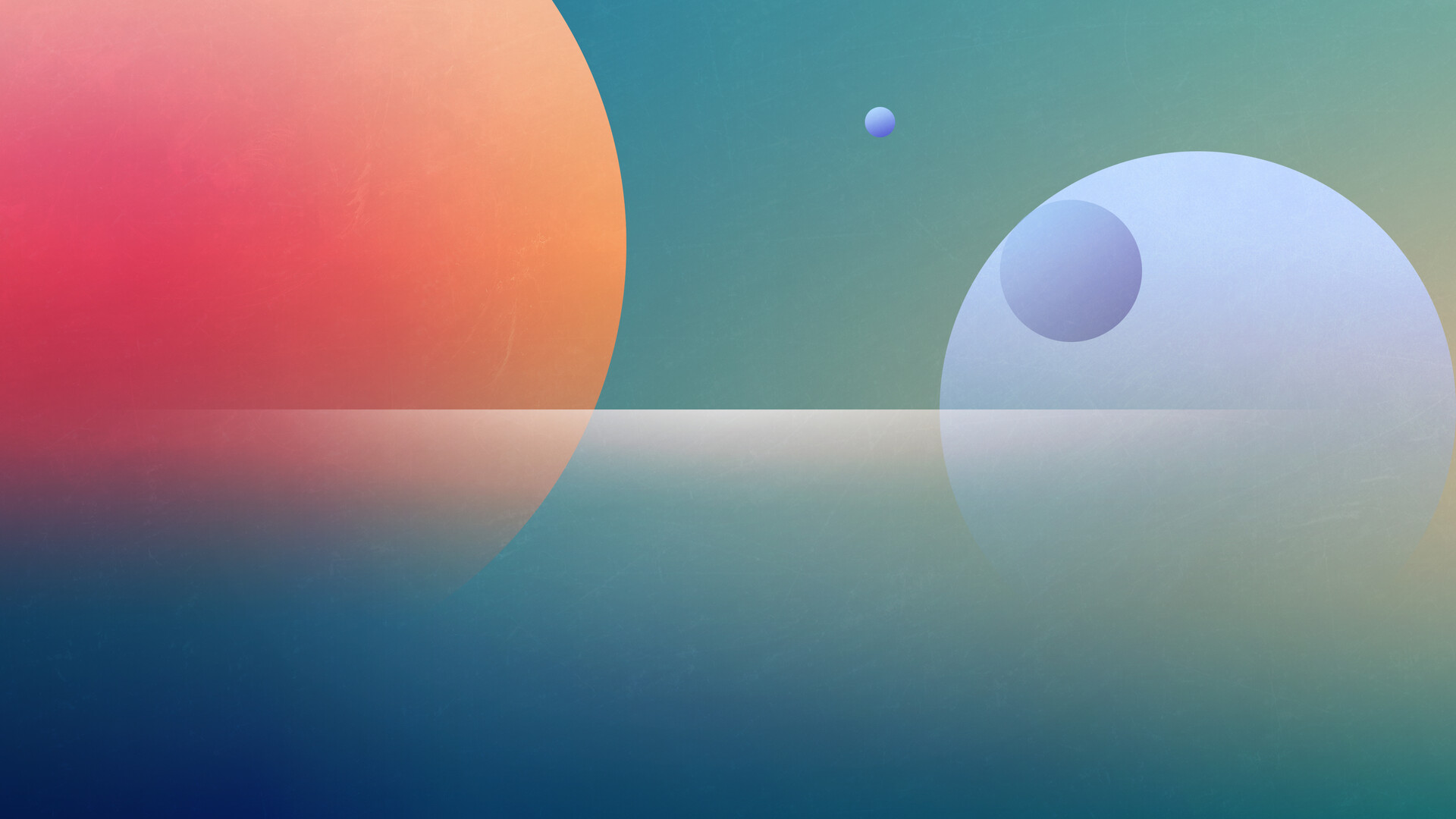 Planets Over Sea
