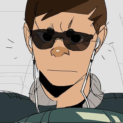 Baby Driver (Scene Sketch)