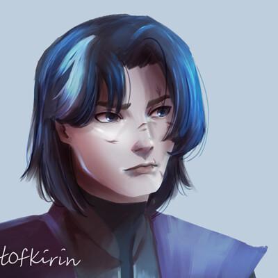 Kirin art hyde portrait