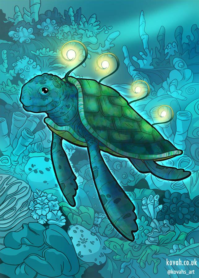 Turtle card