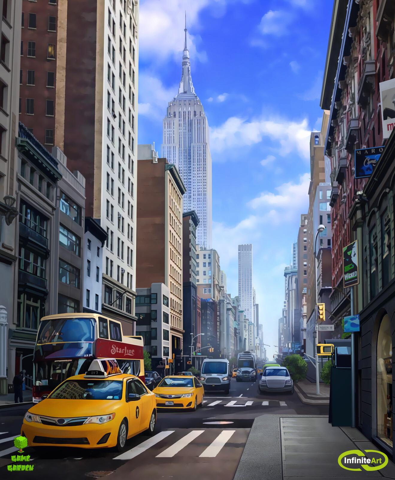 NYC Street (12 hours)
