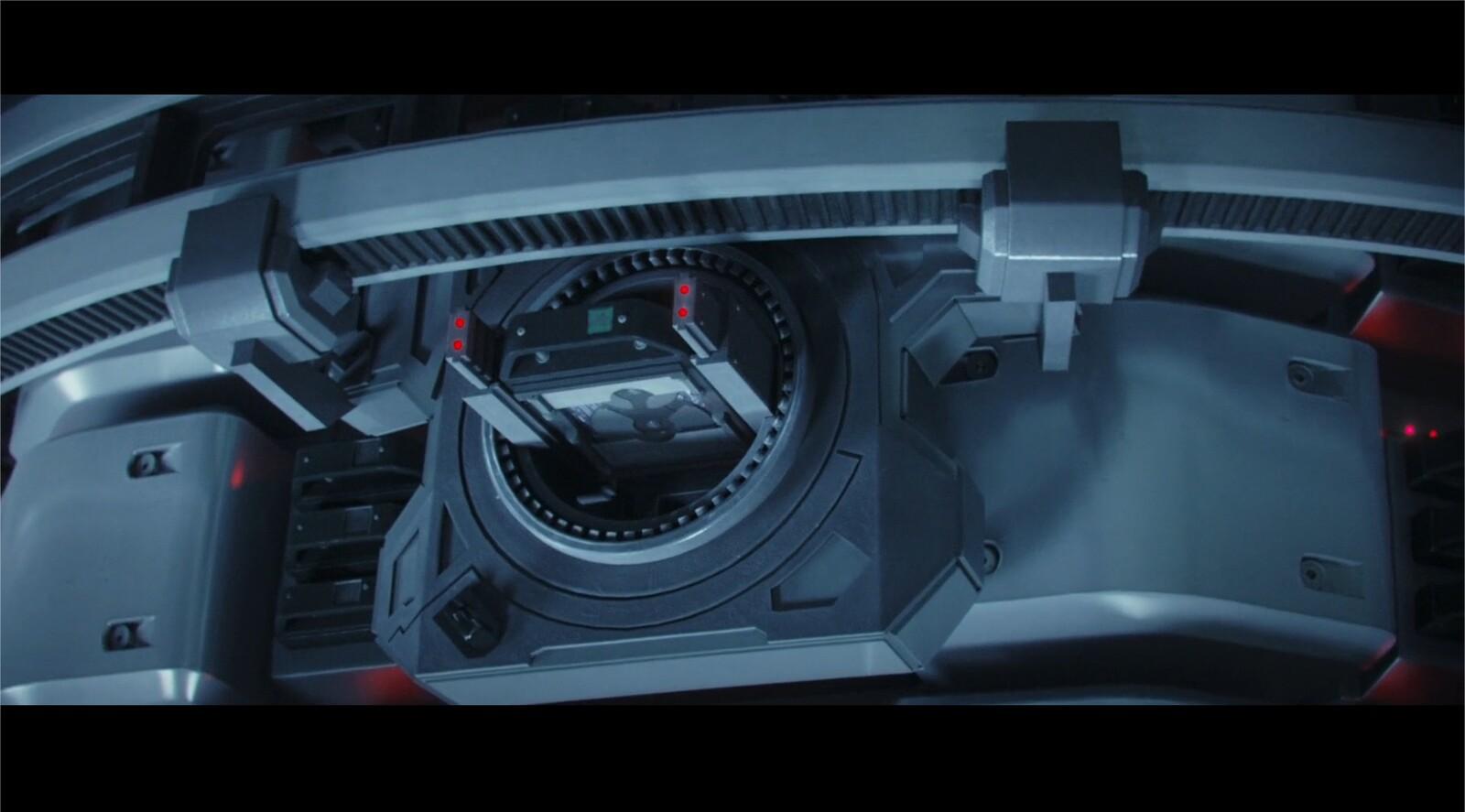 Full CG modeling of the hard drive