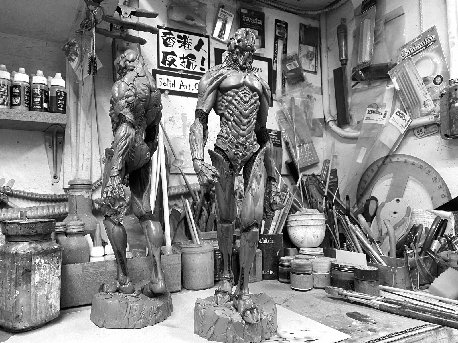 Vile Guyver Art Statue 邪悪な強殖装甲ガイバー https://www.solidart.club/