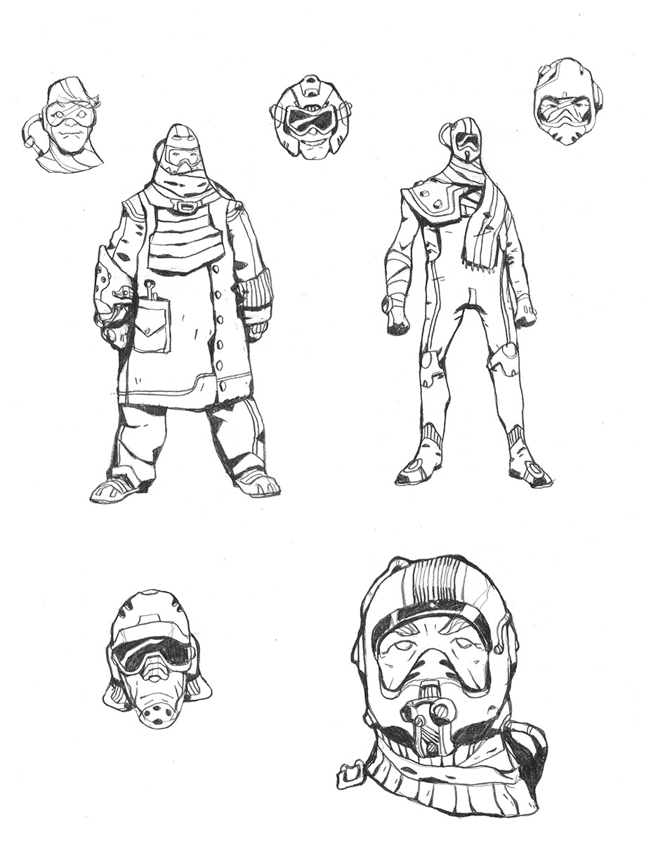 Codename: Empyre - Pit Gang Roughs