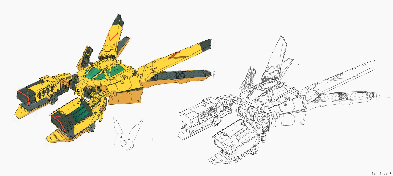 bonus Pikachu ship!