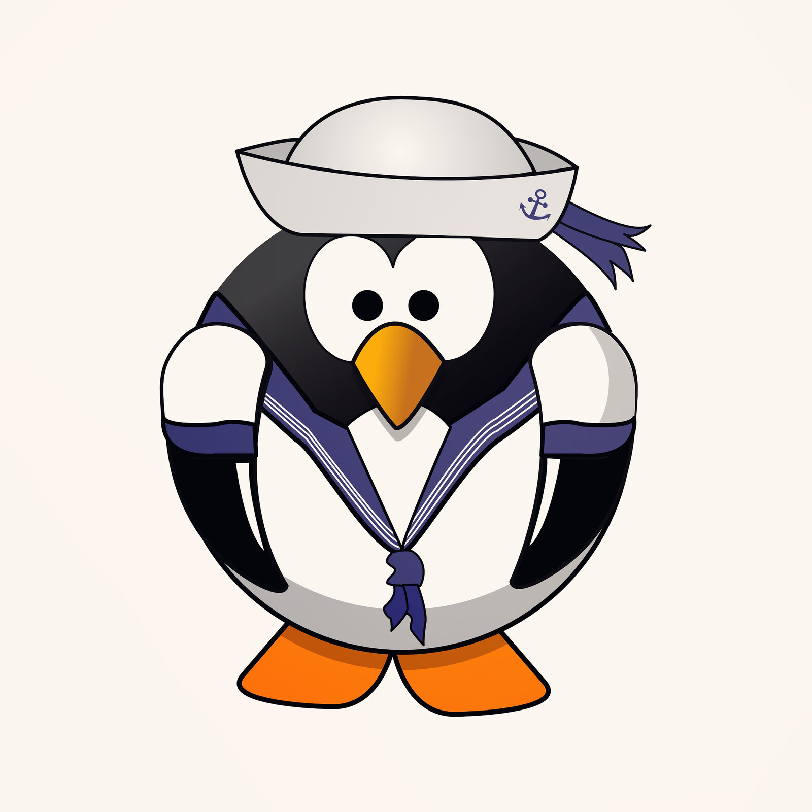 Penguin Sailor