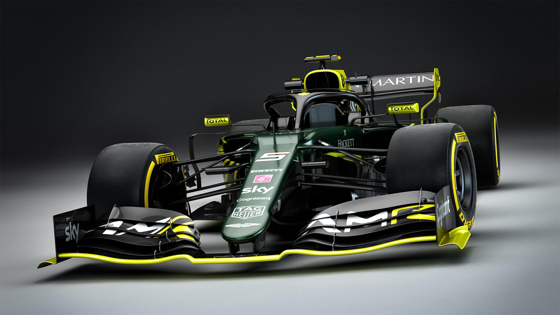 Aston Martin Cognizant F1 Team Background 7