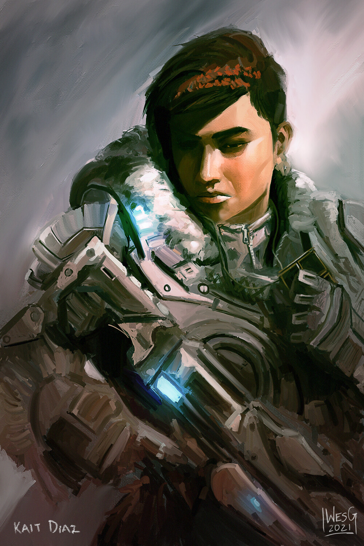 Kait Diaz (Gears 5 Fan Art)