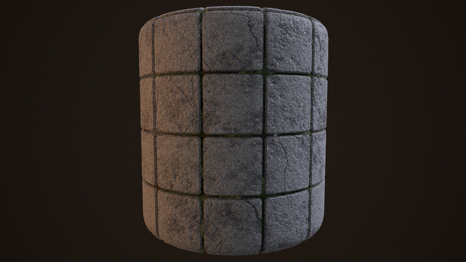 Cylindrical render
