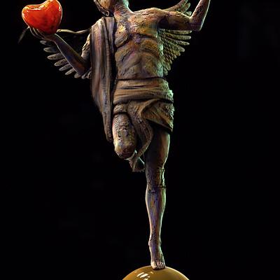 Surajit sen equilibrium digital sculpture surajitsen 14 feb2021 l