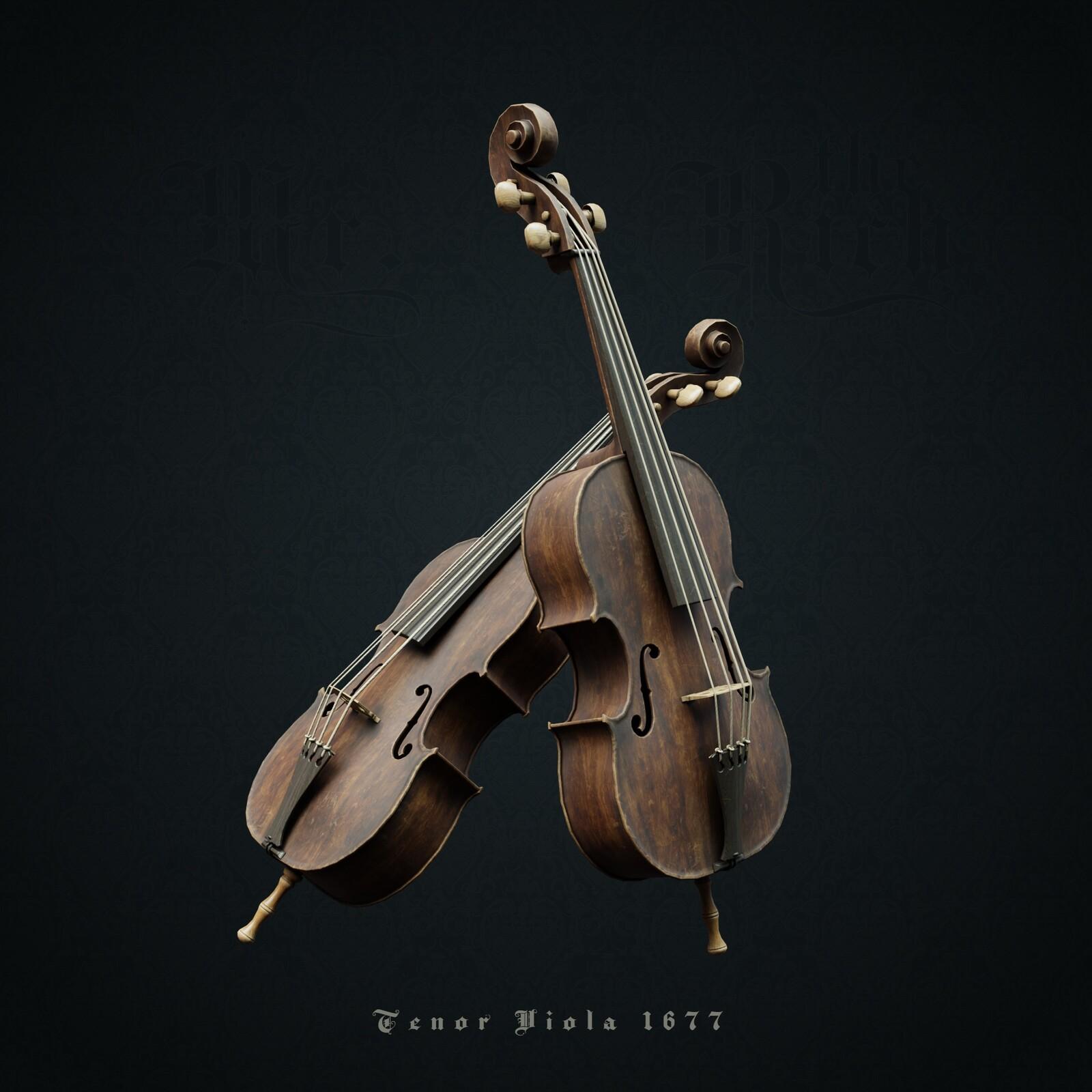 Tenor Viola 1677
