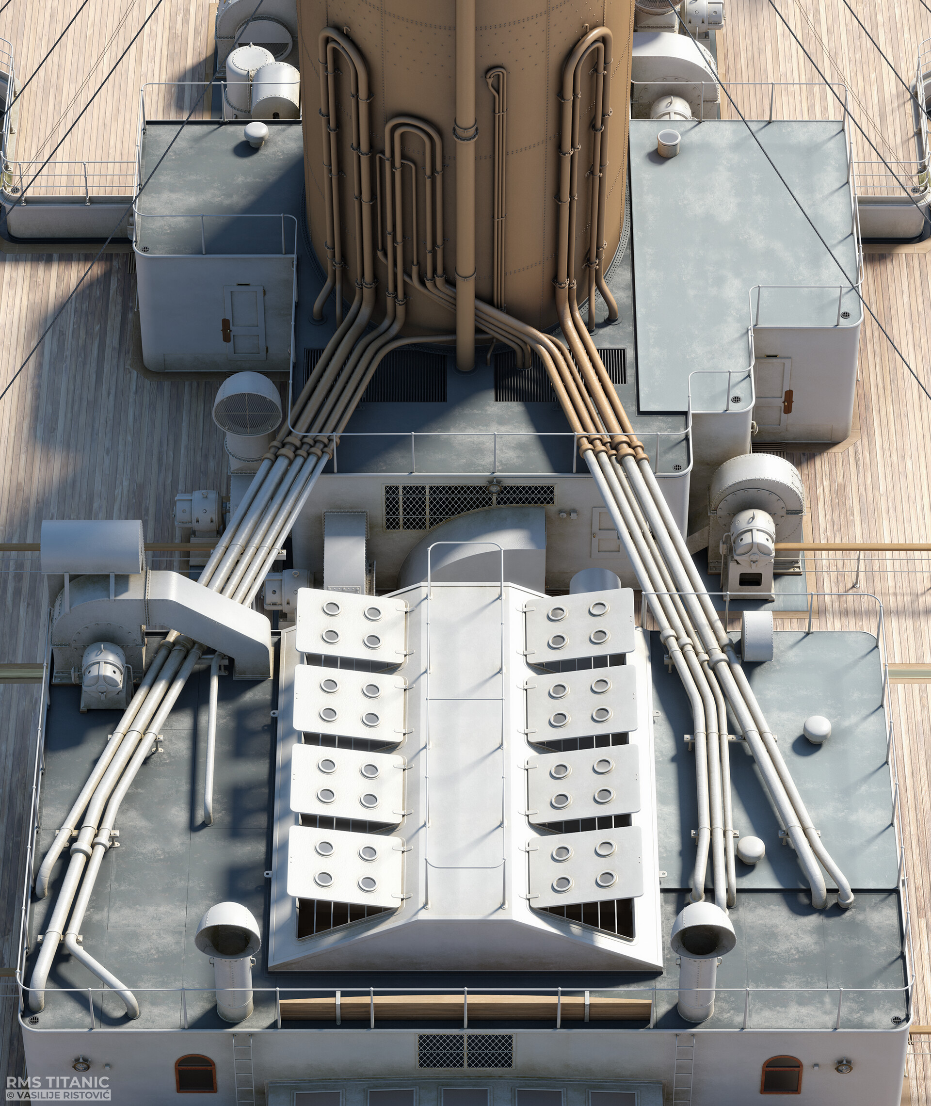 Montage Titanic Trumpeter 1/200 - Page 10 Vasilije-ristovic-titanic-tank-top-02