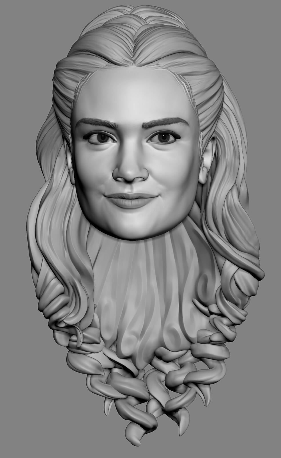 Lily James portrait - Hasbro