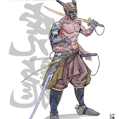 Horacio boriotti samurai
