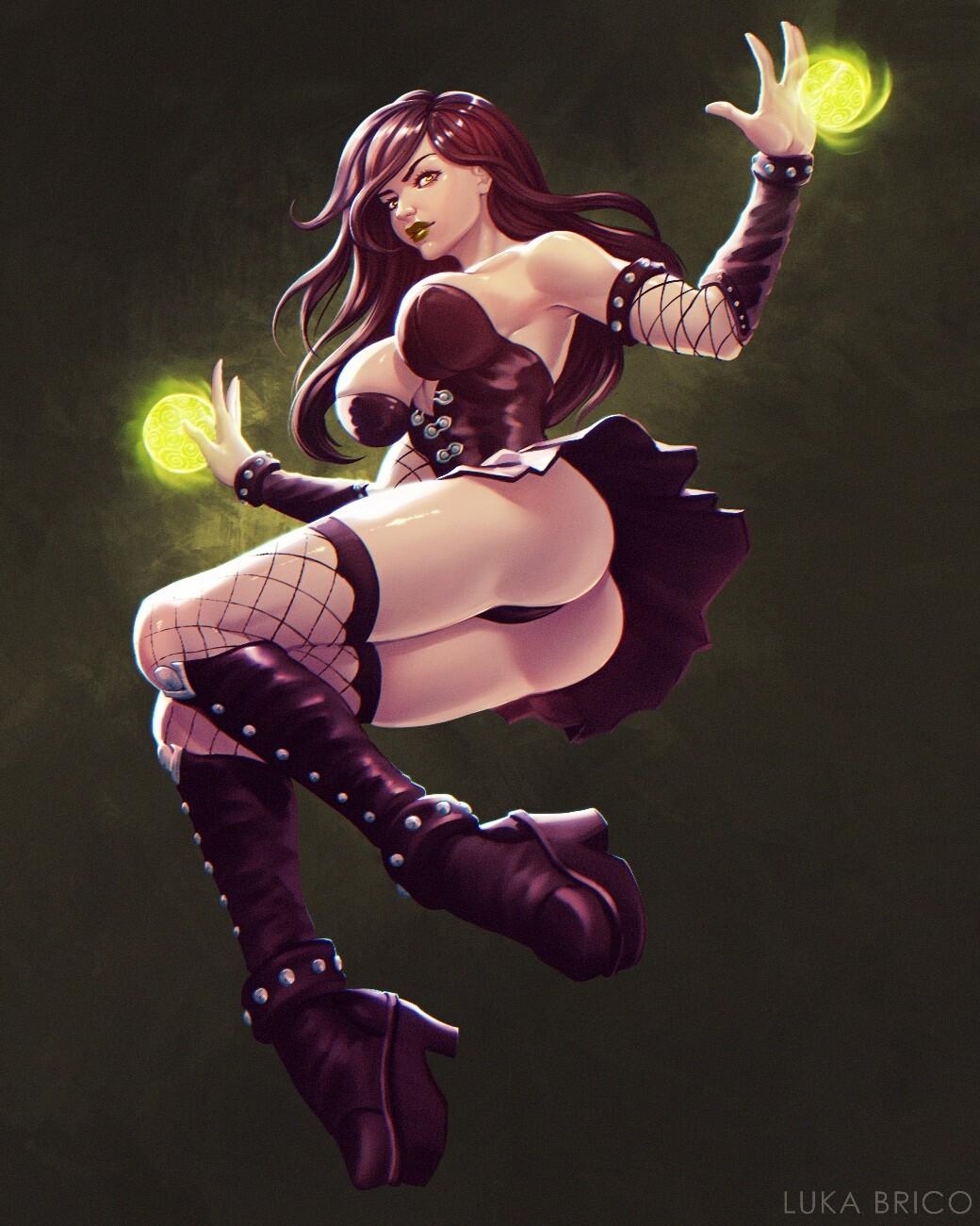 Goth Girl Rayvin