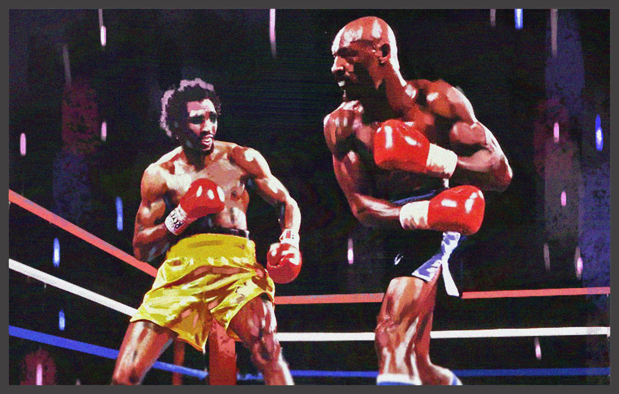 Legends of boxing: Hagler Vs Hearns