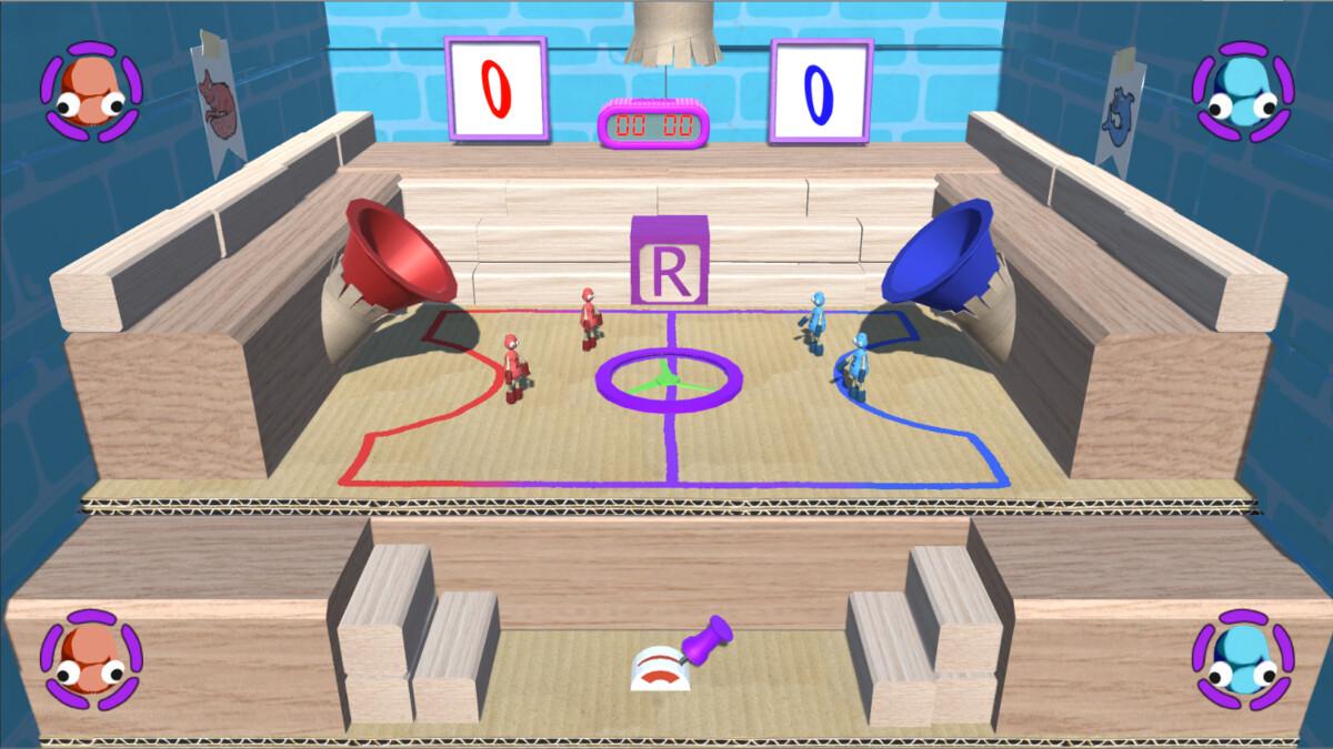 The main Ragball court