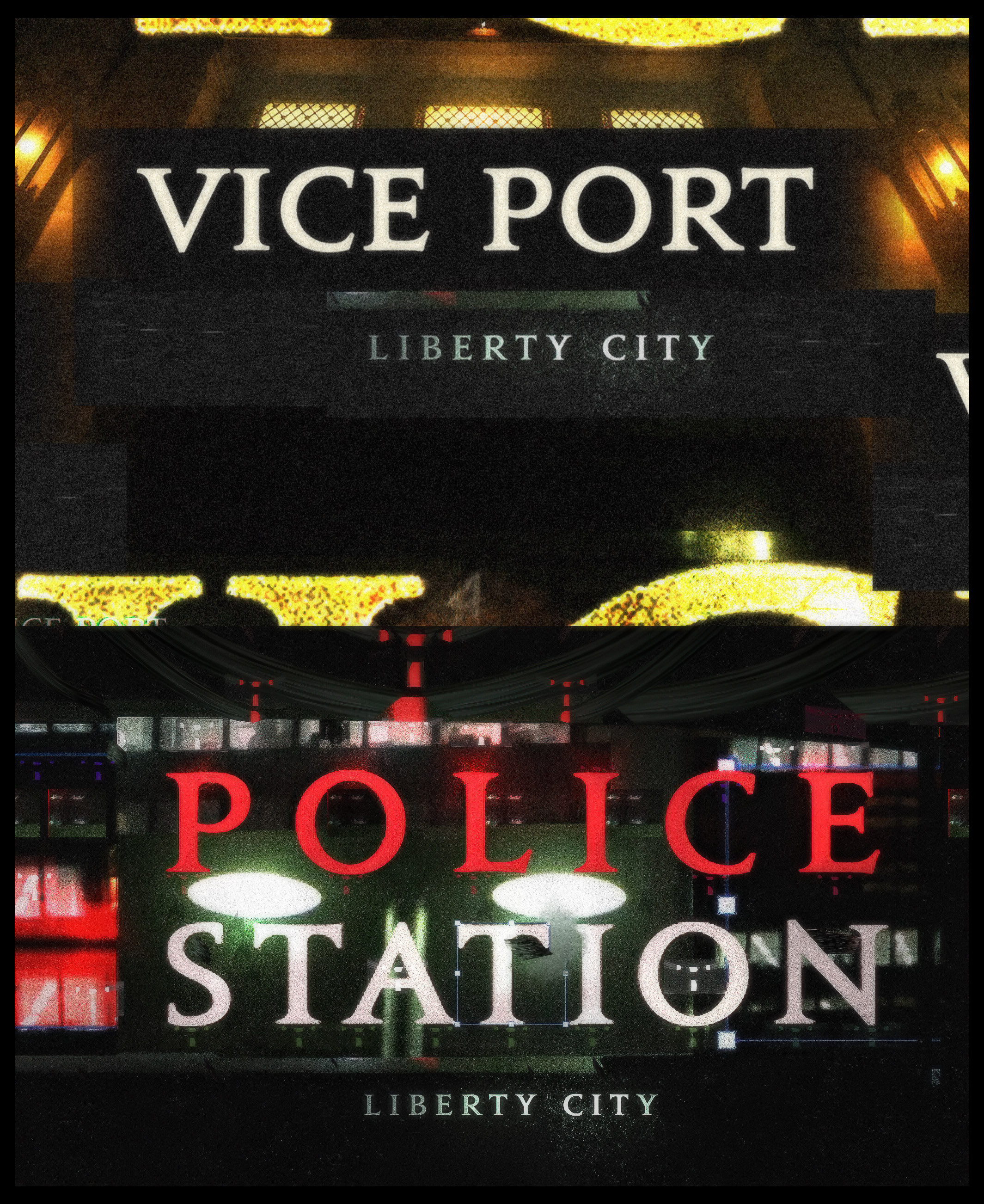 VICE Port & LCPD.