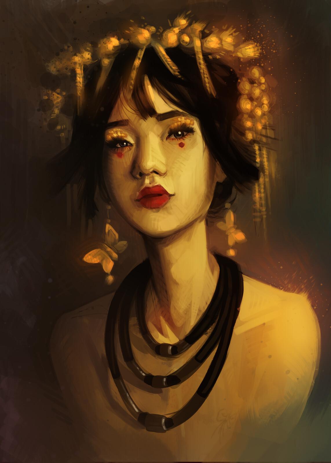 Portrait Study of Boyoung Kim