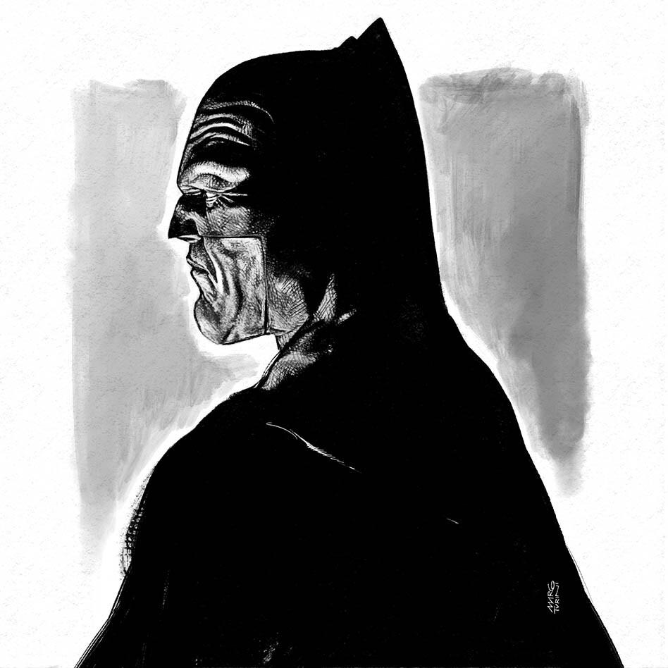 Batman Pencil