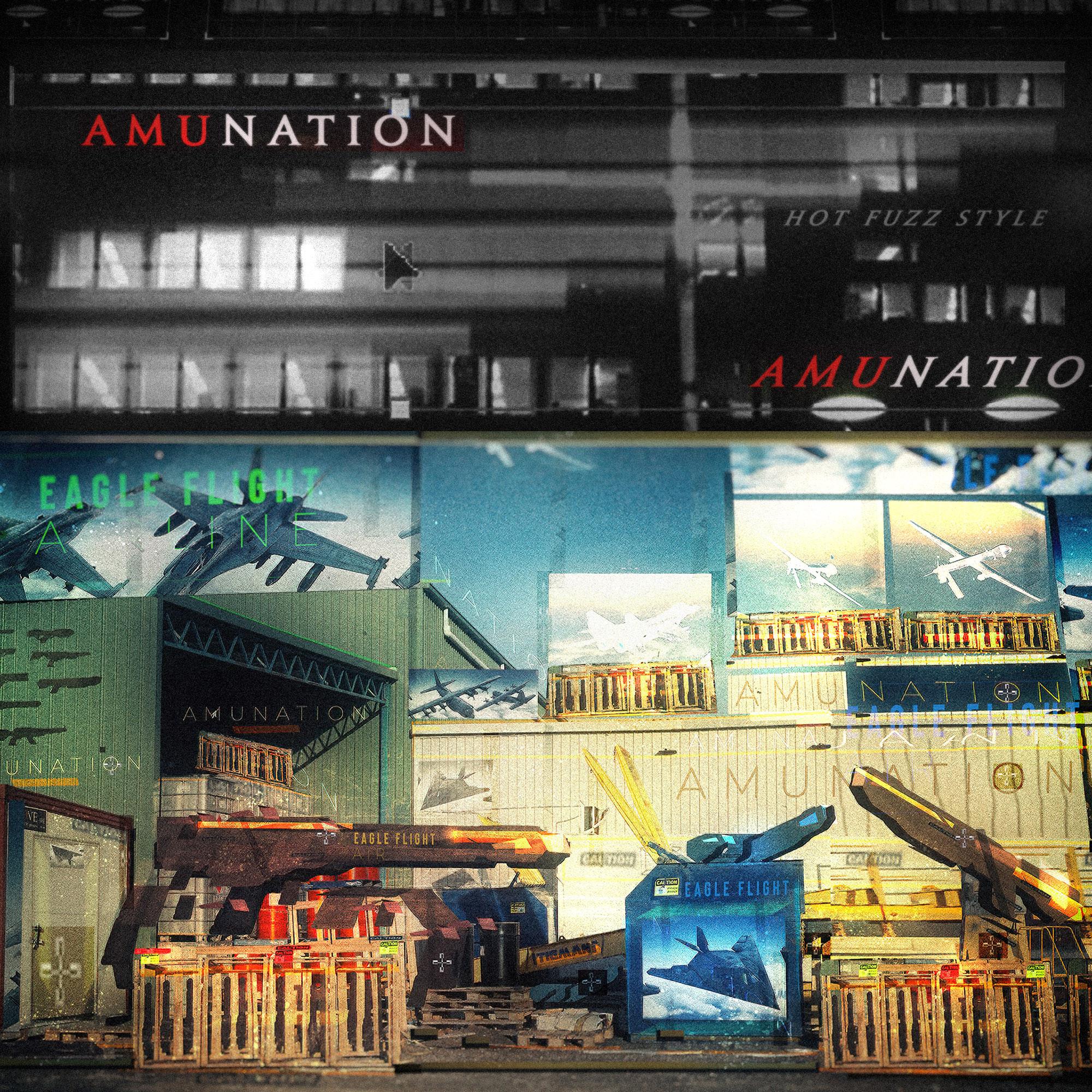 AMU-NATION Back Store.