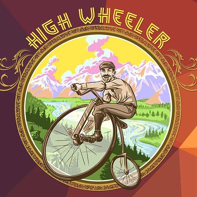 Lance laspina highwheeler