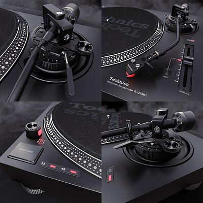 Technics SL-1210MK7 DJ Turntable - Details