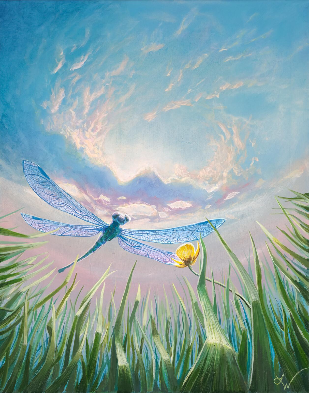 Earth Angel - Acrylic on canvas
