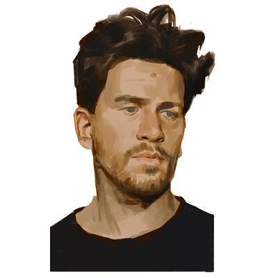Jens claessens selfportrait
