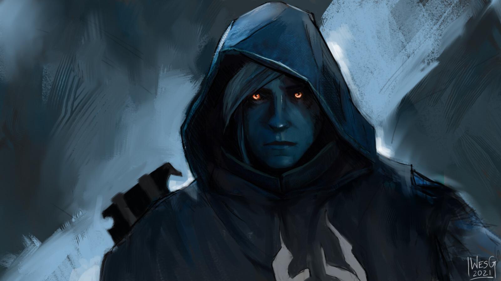 Uldron Sov - The Crow (Destiny 2 Fan Art)