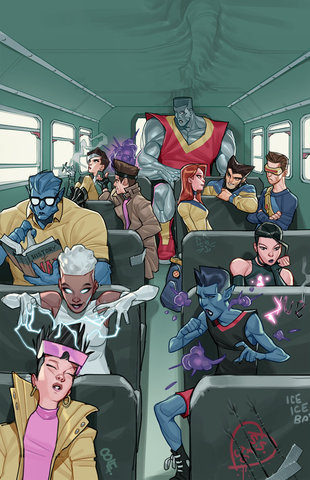 Mutants Need Field Trips, too