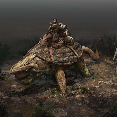 Reuben lane turtle man 2