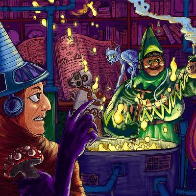 Ben evans witchies
