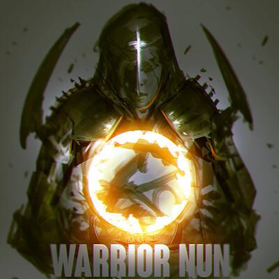 Benedick bana warrior nun fanart cover2