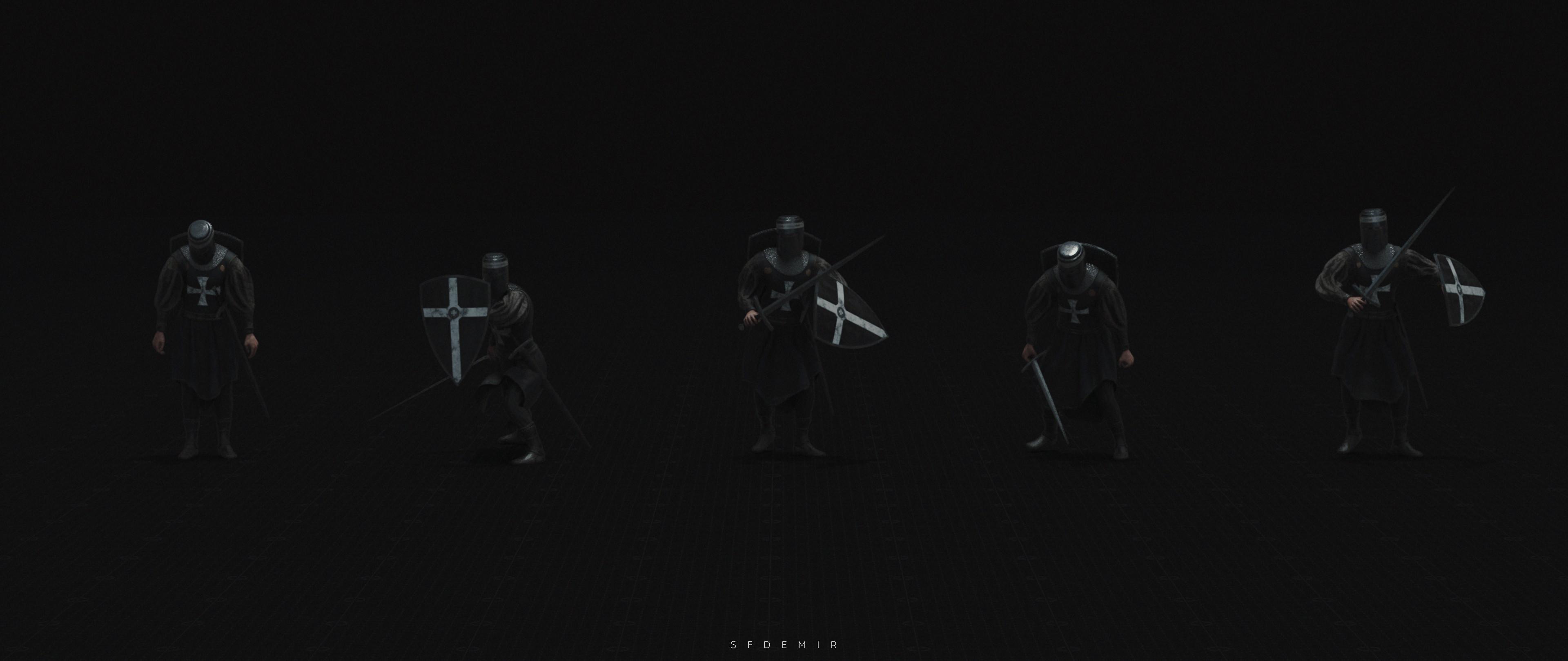 Templar Pose Pack 04