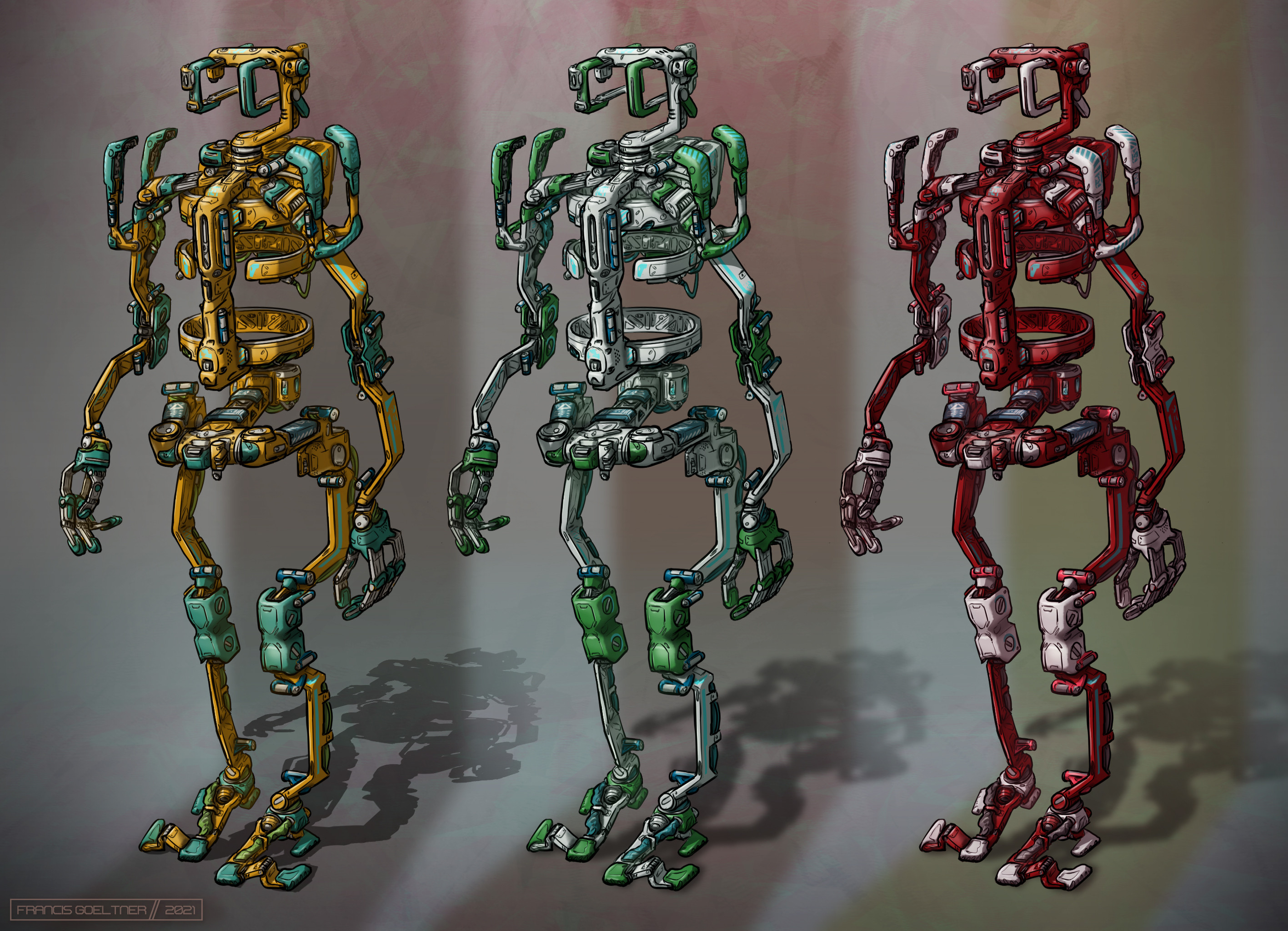 Color variations for Chassis