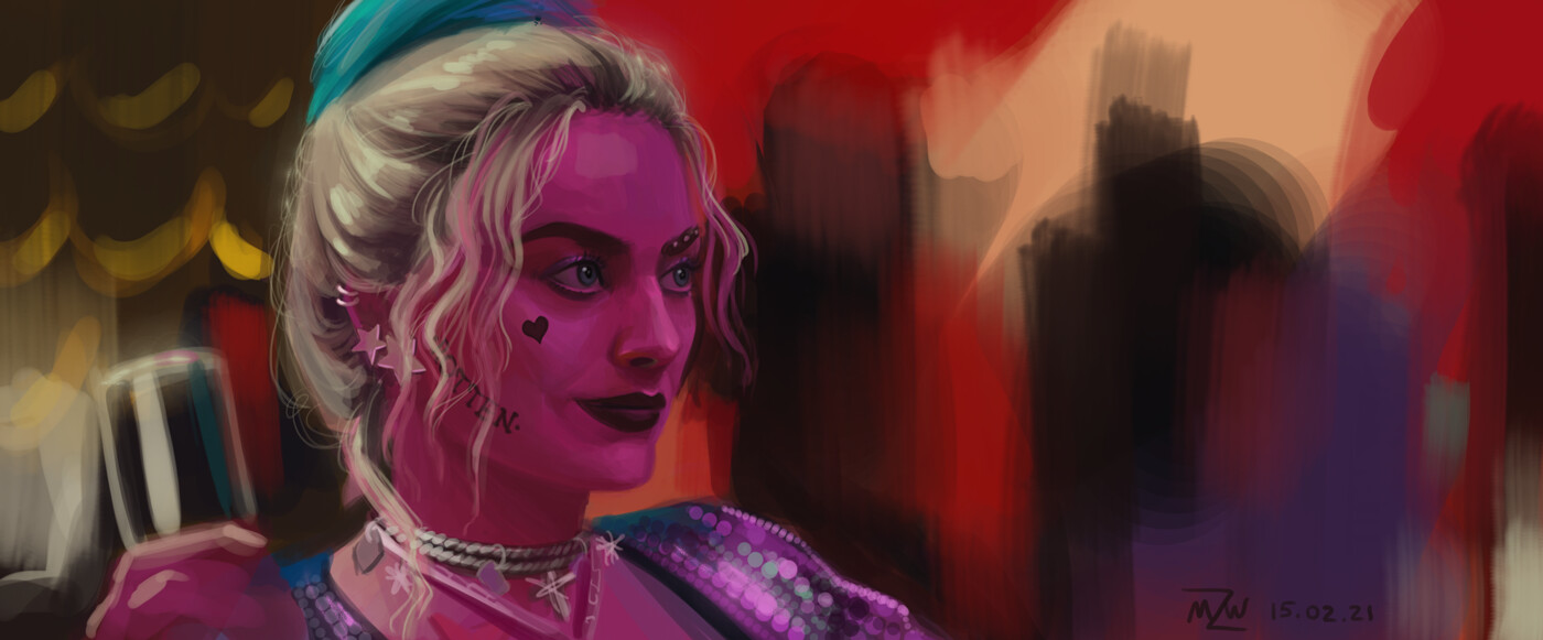 Margot Robbie from Harley Quinn: Birds of Prey