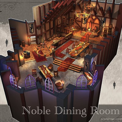 Julian hartinger noble dining room colour