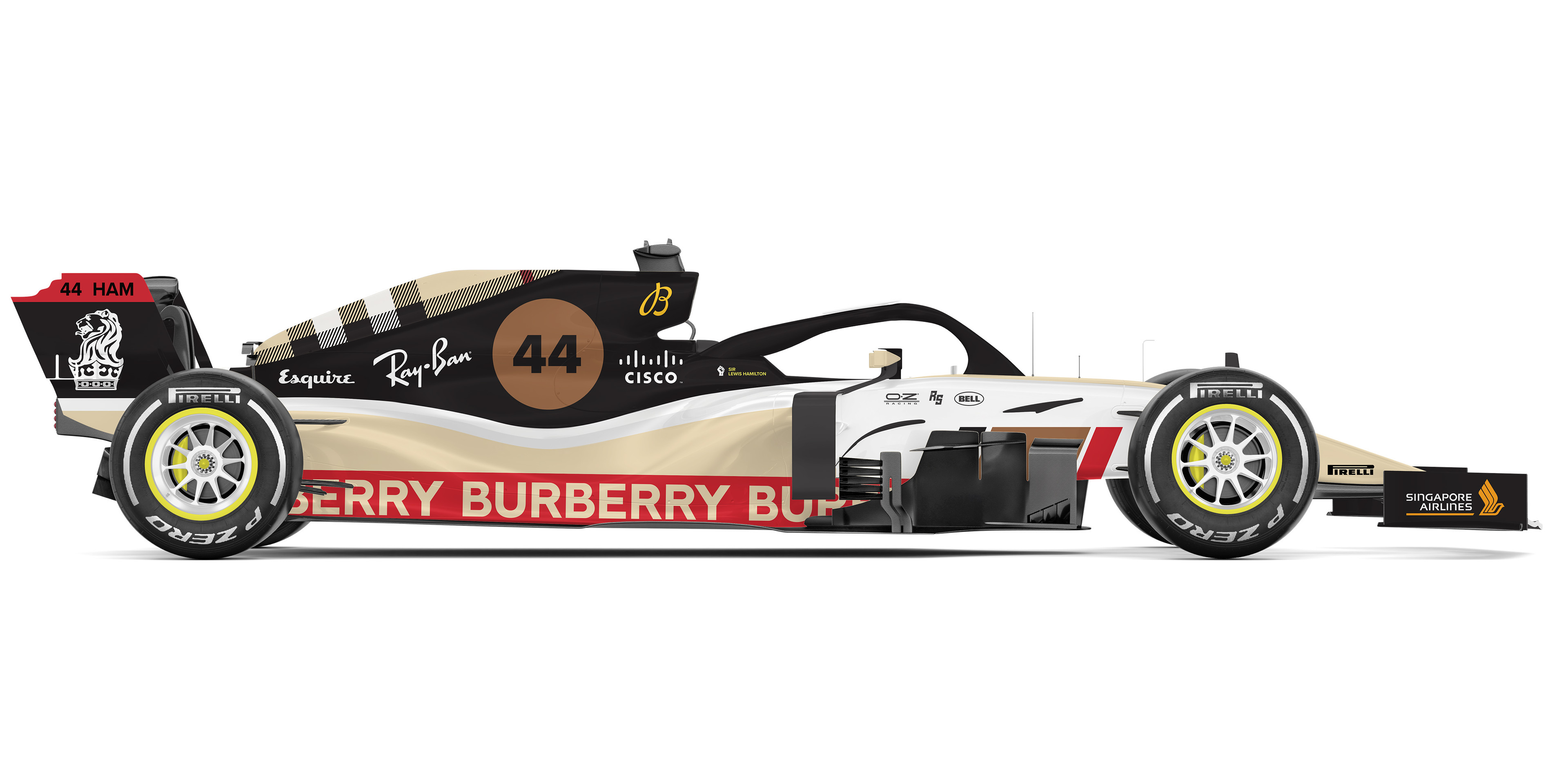 Burberry Livery Concept-Side