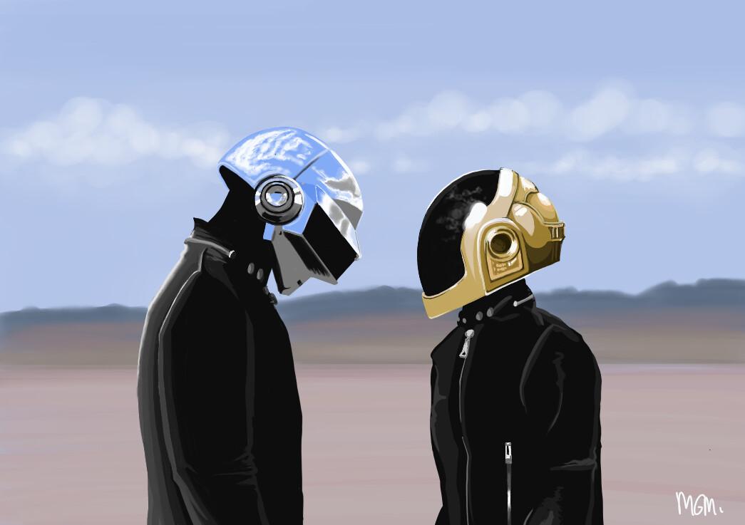 Daft Punk fan art