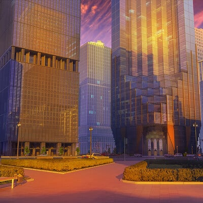 Arseniy chebynkin corporation sunset