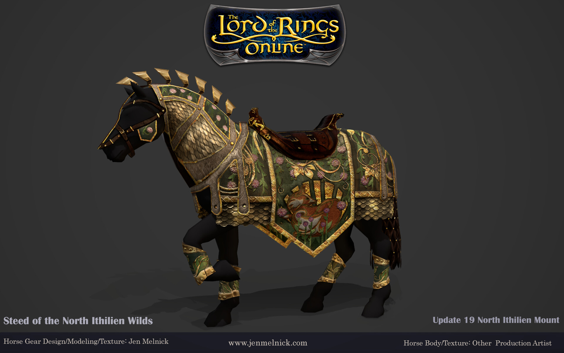 Update 19 North Ithilien Steed